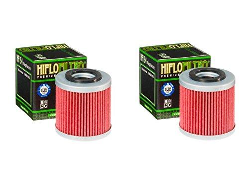 Hiflo Filtro HF154 para motocicleta, Quad Premium filtro de aceite compatible con Husqvarna SM250 R 07, (Husqvarna QM450 (ATV) 07-08)