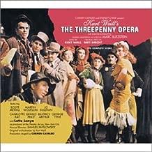The Threepenny Opera 1954 New York Cast Blitzstein Adaptation