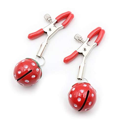 Scopri offerta per Healifty 1 paio di morsetti regolabili con campanelle non piercing gioielli per il corpo donna 1 5 cm