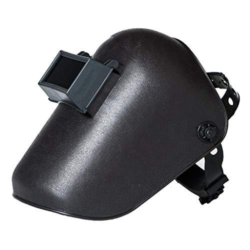 Almencla Máscara de Casco de Soldadura Por Sombra 8 Soldador Abatible Hacia Arriba Capucha Protectora de Pantalla Facial MIG TIG MMA Negro