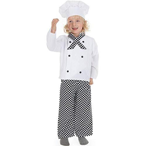 Garçons Enfants Filles ou Chef / Cuisinier Costume de déguisement 3-5 ans [Jouet]