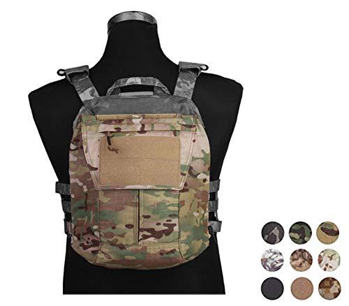 Emerson Taktisch Beutel Zip-ON Panel ZUM AVS JPC 2.0 CPC Airsoft Tasche (Black)