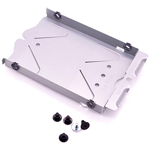 Hard Drive Caddy Tray Metal SATA HDD Mounting Bracket Holder with Screws Replacement for PS4 CUH-1200 CUH-1215A