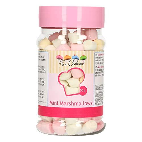 FunCakes Sprinkles Mini Nubes: Sprinkles para Tartas, Gran Sabor, Perfecto para Decorar Tartas, Cientos y Miles de Sprinkles. 50g