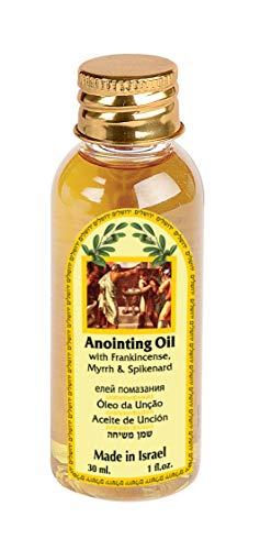 Ein Gedi Bendición de aceite de unción de Jerusalén - incienso, mirra y espigenardo de Israel - 30ml