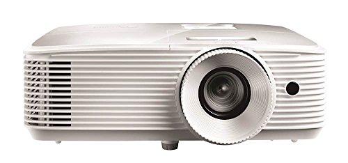 Optoma EH335 Desktop-Projektor 3600ANSI Lumen DLP 1080p (1920 x 1080) 3D Kompatibilität Weiß Beamer – Beamer (3600 ANSI Lumen, DLP, 1080p (1920 x 1080), 20000:1, 16:9, 711,2 - 7645,4 mm (28 - 301')