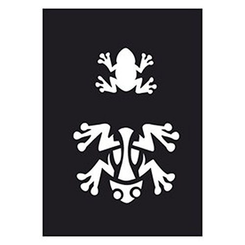 Creartec Tattoo Schablone Frosch 263 026 günstig