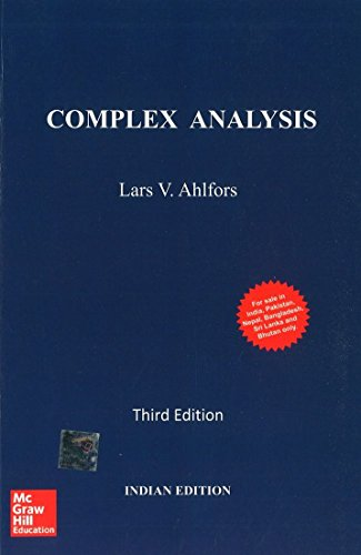 Compare Textbook Prices for Complex Analysis 3rd Edition ISBN 9781259064821 by Ahlfors