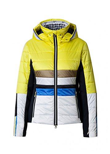 SPORTALM DESTINY PB Skijacke m. Kapuze Größe 40 Gelb (Aurora (Gelb/Weiß))