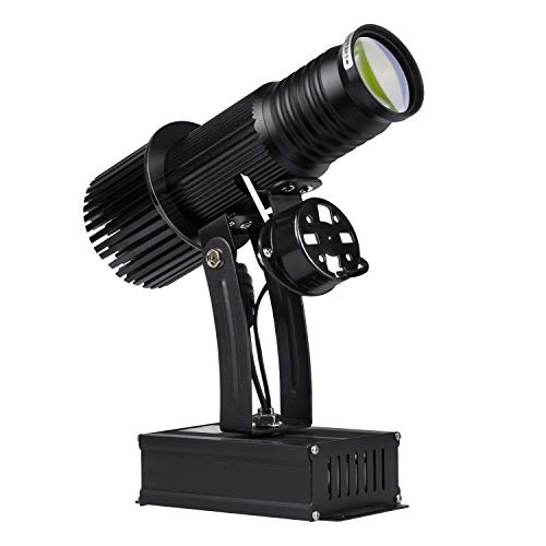 WUZHENG Imagen Personalizada LED GOBO Logo Proyector Luz para Empresa