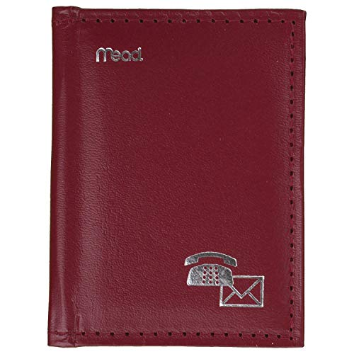 Mead Mini Telephone & Address Book, Assorted Colors, Color Selected for You, 1 Count (67142)