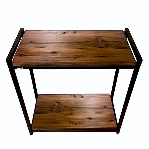 Goldlife 水槽台用木板1枚 台は別売り【ジェックス スチールスタンド60cm 2段台 組立式水槽台 に対応可能】 塗装済み 奥行き約31cmでジャストサイズ 水槽台ボード ダークブラウン