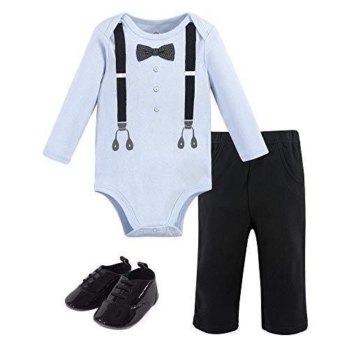 Little Treasure – Body Unisex para bebé, pantalón y Zapatos, Damas Hombre 3 Piezas, 9-12 Meses