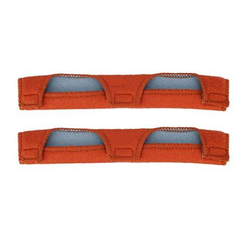 Jenngaoo 2 Teile Schweißhelm Schweißband, Schutzhelm Schweißband Stirnbänder Luftkissen Schweißband Helm Tröster Pad für Schutzhelm 245 mm, 2 Stück pro Packung
