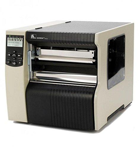 Zebra 223–80e-00003TT imprimante, 220x i4, 300dpi, Euro/anglaise, Swiss 721polices de caractères, série, parallèle, USB, INT 10/100, avec support de porte
