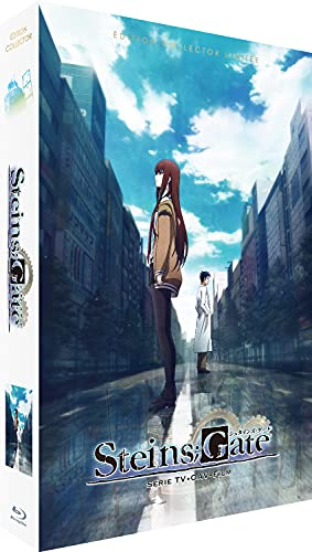 Steins Gate-Intégrale + Film-Edition Collector Limitée [Blu-Ray] + DVD