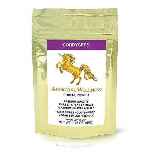 Addictive Wellness Cordyceps CS-4 Extract Powder - Pure & Potent
