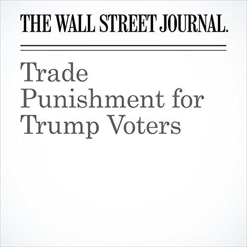 Trade Punishment for Trump Voters copertina