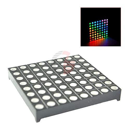 LED RGB Matrix Module Driver Board 8x8 + Dot Matrix for Arduino AVR top