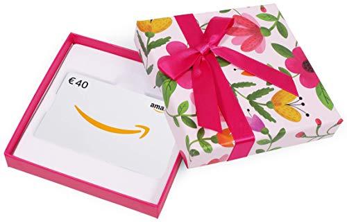 Buono Regalo Amazon.it - €40 (Cofanetto con Fiori)
