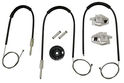 Twowinds - 8200075938 Kit reparación elevalunas eléctricos delantero derecho MEGANE II Hatchback Familiar Berlina