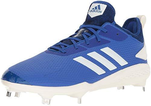 adidas Men's Adizero Afterburner V Baseball Shoe, Collegiate Royal/Cloud...