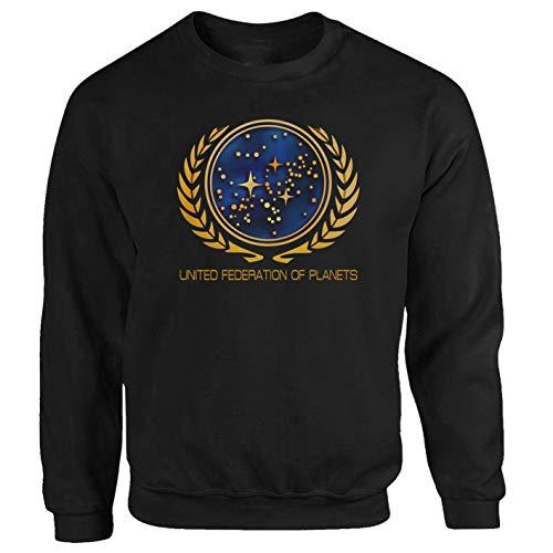 Star Trek Nasa Space Shuttle Film Discovery sweat-shirt Noir XXX-Large