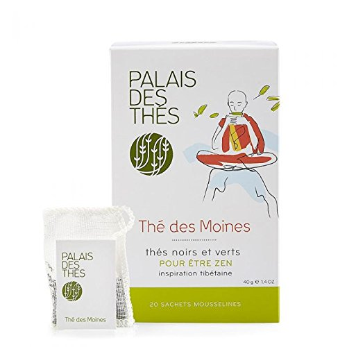 Palais des Thés, Signature Tea Blends Collection, The des Moines (Black and Green, Flowery Blend)