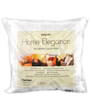 Fairfield Home Elegance Pillow, 20 by 20-Inch