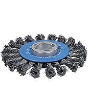 Bosch Professional Heavy - Rueda de alambre trenzado (para metales, X-LOCK, Ø 115 mm, grosor del alambre 0,5 mm)