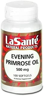 Premier Evening Primrose Oil 500 Mg 100 SGel Hexane Free by LaSante Research Labs Natural Products