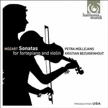 Mozart: Sonatas for fortepiano & violin