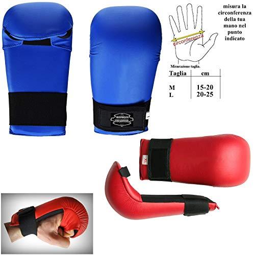 guantini karate kumite mmasport Guanti Karate Kumite Gloves guantini fitboxe in Pelle Sintetica (Large