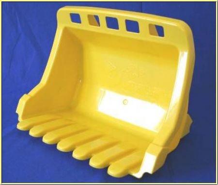 Kippschüssel für rollyTrac Lader gelb
