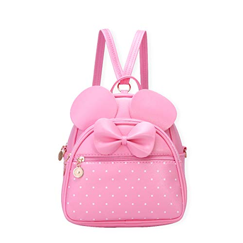 Girls Bowknot Polka Dot Cute Mini Backpack for Women -$13.79(40% Off with code)