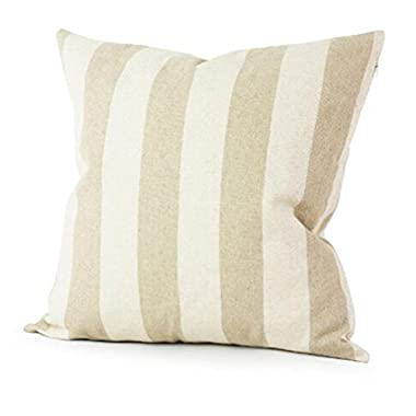 Simple Striped Home Body Pillowcases,Highpot Simpel Style Design A Variety of Striped Square Plush Cover Cushion (2F)