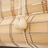 Bambusrollo Premium-Rollläden Für Den Innen- Und Außenbereich, Rollläden In Khaki,...