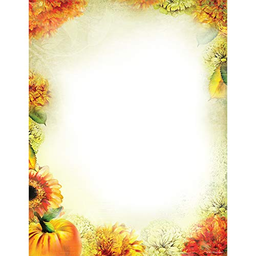 Great Papers! Autumn Foliage Letterhead, 80 count, 11' x 8.5' (2013285)
