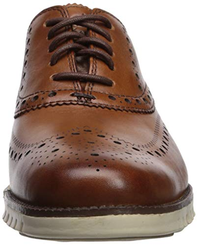 Cole Haan Men's Zerogrand Wing Oxford, British Tan, 9 M US