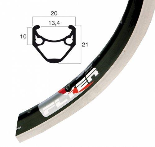 Ryde (Rigida Flyer/Racer fiets velg zilver // 622-13 (28 inch)