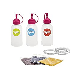 Mess free easy to use tie dye Unique simple to use patented magic mixing orb Design and create anything from t-shirts to canvas bags All dyes are child friendly, suitable for ages 6+ A refill pack which includes inks, bottles, instruction cards and e...