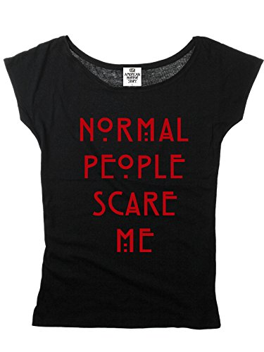 American Horror Story Normal People Scare Me T-Shirt schwarz XXL
