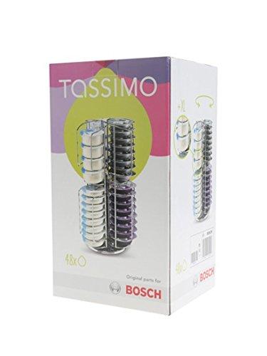 Tassimo - Dispensador de cápsulas giratorias para 48 T-discs