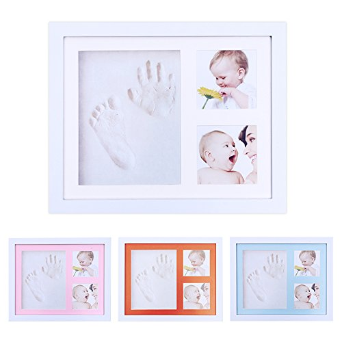 Emballage photo Newborn Babyprint et Handprint Clay Photo Frame Kit