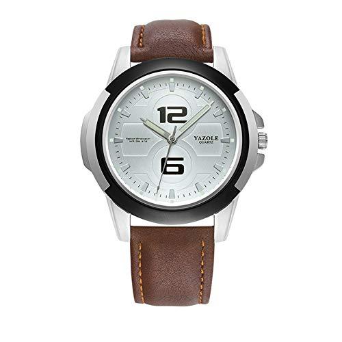 DAZHE Relojes Militares Relojes de Pulsera de cuar 418 yazole Reloj de Cuarzo Luminoso Reloj para Hombres (Color : 3)
