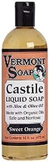 VermontSoap バーモントソープ リキッドソープ (スイートオレンジ) 473ml