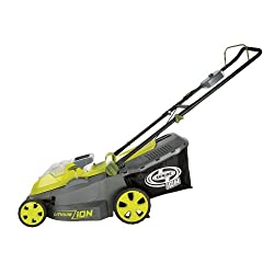electric lawn mower sun joe