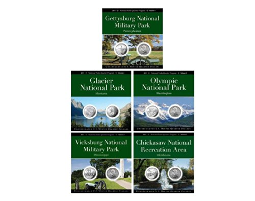 2011 National Park Quarter Collection Annual Pack Set Uncirculated