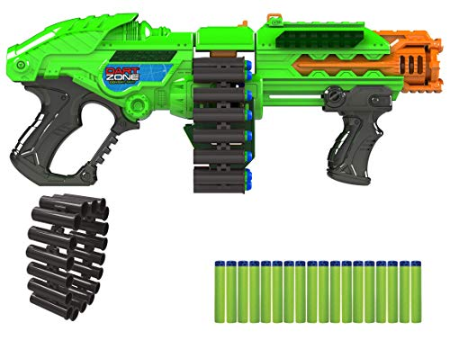 Dart Zone Powerbolt X Dart Belt Blaster, Green