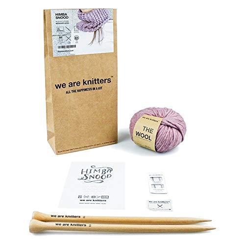 Smartbox - Caja Regalo - We Are Knitters: Kit de Tejer con Ovillo, Agujas y patrón - Ideas Regalos...